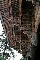 Nara: Brackets--Great South Gate. Photo '81.