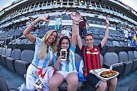 Photo before the match Argentina vs Chile corresponding to the Final of America Cup Centenary 2016, at MetLife Stadium.<br /> <br /> Foto previo al partido Argentina vs Chile cprresponidente a la Final de la Copa America Centenario USA 2016 en el Estadio MetLife , en la foto:Fans<br /> <br /> <br /> 26/06/2016/MEXSPORT/JAVIER RAMIREZ
