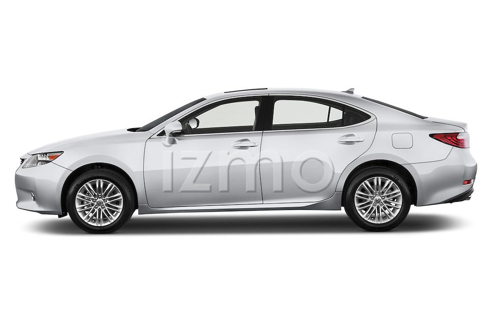 Driver side profile view of a .2013 Lexus ES 350