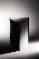 Book with pages fanned open<br />