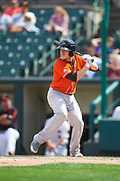 Norfolk Tides second baseman Corban Joseph (5) at bat during a game against the Rochester Red Wings on July 17, 2016 at Frontier Field in Rochester, New York.  Rochester defeated Norfolk 3-2.  (Mike Janes/Four Seam Images)