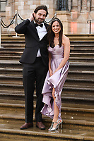 """Jamie Jewitt and Camilla Thirlow<br /> arriving for the world premiere of """"Our Planet"""" at the Natural History Museum, London<br /> <br /> ©Ash Knotek  D3491  04/04/2019"""