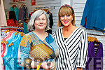 Bridget O'Connor and Lorraine Leahy attending the fashion show fundraiser in Carraig Donn for the Chemotherapy Unit in UHK on Friday.