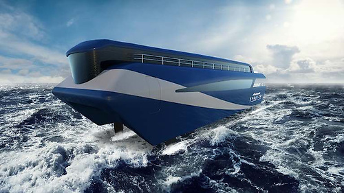 The electric hydrofoiling propulsion system, the Artemis eFoiler to be built in Belfast