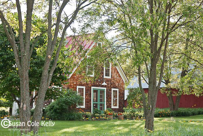 Farmhouse in Franconia, NH, USA
