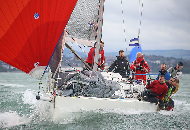 TheRoyal Irish Yacht Club's John Maybury has made it four in a row at theICRA National Championships in his Class One J109 Yacht Joker II