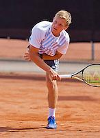Netherlands, Rotterdam August 05, 2015, Tennis,  National Junior Championships, NJK, TV Victoria, Bart Stevens<br /> Photo: Tennisimages/Henk Koster