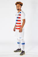 SAN PEDRO DEL PINATAR, SPAIN - MARCH 2019: U.S. Soccer USMNT U-20 Portraits & Lifestyles.