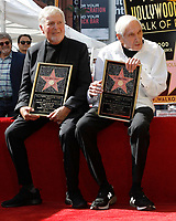 LOS ANGELES - FEB 13:  Sid Kroft, Marty Kroft at the Sid and Marty Kroft Star Ceremony on the Hollywood Walk of Fame on February 13, 2019 in Los Angeles, CA