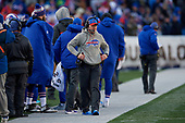 Buffalo Bills head coach Sean McDermott during an NFL football game against the New York Jets, Sunday, December 9, 2018, in Orchard Park, N.Y.  (Mike Janes Photography)