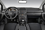 Straight dashboard view of a 2009 Mercedes A Class Blue Efficiency 3 Door Mini MPV.