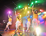 """Crayon Pop, Aug 19, 2013 : Tokyo, Japan : Korean girl group Crayon Pop perform during their tour """"Jumping with Tokyo"""" in Tokyo, Japan, on August 19, 2013."""