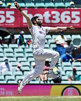 10th January 2021; Sydney Cricket Ground, Sydney, New South Wales, Australia; International Test Cricket, Third Test Day Four, Australia versus India; Jasprit Bumrah of India bowling