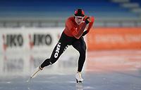 SCHAATSEN: HEERENVEEN: 10-10-2020, KNSB Trainingswedstrijd, Bart Swings, ©foto Martin de Jong