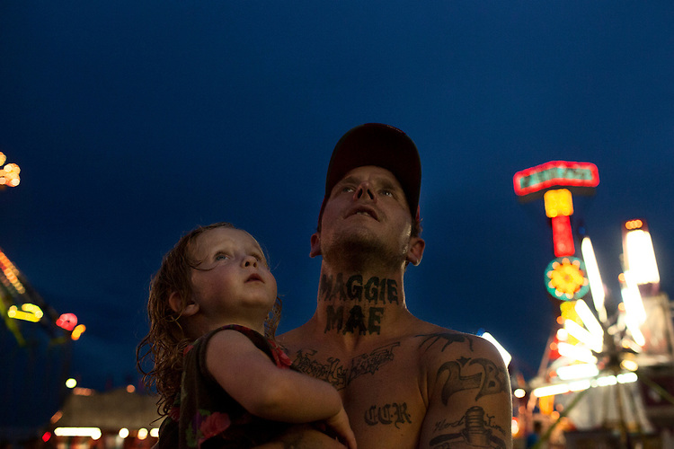 One month into their courtship, Shane had Maggie's name tattooed on his neck in large black letters.