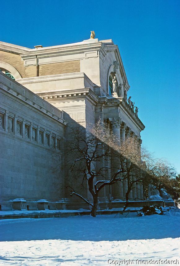 St . Louis: Art Museum, Forest Park. Cass Gilbert, 1904.