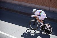 Time Trial World Champion Tony Martin (GER/Katusha Alpecin) during his race.<br /> <br /> Baloise Belgium Tour 2017<br /> Stage 3: ITT Beveren - Beveren (13.4km)