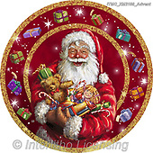 Marcello, CHRISTMAS SANTA, SNOWMAN, WEIHNACHTSMÄNNER, SCHNEEMÄNNER, PAPÁ NOEL, MUÑECOS DE NIEVE, paintings+++++,ITMCXM2199/ADVENT,#x# ,plate,tin,tins