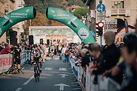 Michael Matthews (AUS/Sunweb) at the race start in Bergamo<br /> <br /> 112th Il Lombardia 2018 (ITA)<br /> from Bergamo to Como: 241km
