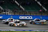 #4: Todd Gilliland, Kyle Busch Motorsports, Toyota Tundra JBL/SiriusXM and #99: Ben Rhodes, ThorSport Racing, Ford F-150 Carolina Nut