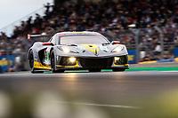 #64 Corvette Racing Chevrolet Corvette C8.R LMGTE Pro, Tommy Milner, Nicholas Tandy, Alexander Sims, 24 Hours of Le Mans , Qualifying Practice , Circuit des 24 Heures, Le Mans, Pays da Loire, France