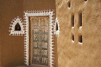 Hotel architecture in the Desert, Mandawa, Rajasthan India