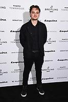Dean Charles Chaplin<br /> arriving for the Esquire Townhouse 2019 launch party, London.<br /> <br /> ©Ash Knotek  D3528 16/10/2019