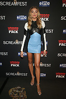 HOLLYWOOD, CA - OCTOBER 12: Rachel Hilbert, at the 21st Screamfest Opening Night Screening Of The Retaliators at Mann Chinese 6 Theatre in Hollywood, California on October 12, 2021. Credit: Faye Sadou/MediaPunch