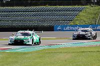 5th September 2020, Assen, Netherlands;  Nico Mueller SUI Audi Team Abt Sportsline and Jamie Green GBR Audi Sport Team Rosberg beim DTM-Lauf auf dem TT Circuit Assen NL.