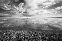 """Sky & Earth""  Yellowstone National Park  Yellowstone Lake 