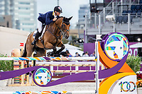AUS-Kevin McNab rides Don Quidam during the Eventing Jumping Team Final and Individual Qualifier (MEDAL). Tokyo 2020 Olympic Games. Monday 2 August 2021. Copyright Photo: Libby Law Photography