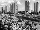 """Katowice 15.08.2019 Poland<br /> On the Polish Army Day a parade under the slogan """"Faithful to Poland"""" was held, organized to celebrate the 100th anniversary of the beginning of the Silesian Uprisings and the 99th anniversary of the Battle of Warsaw. Traditionally, it was possible to admire the equipment of the Polish Armed Forces.<br /> Photo: Adam Lach<br /> <br /> Defilada """"Wierni Polsce"""" w Katowicach w dniu Swieta Wojska Polskiego.<br /> Fot: Adam Lach"""
