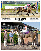 Uncle Brent winning at Delaware Park on 8/23/11