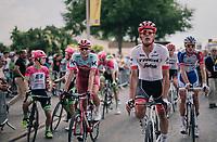 Jasper Stuyven (BEL/Trek-Segafredo) rolling in<br /> <br /> Stage 7: Fougères > Chartres (231km)<br /> <br /> 105th Tour de France 2018<br /> ©kramon