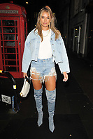 Arabella Chi at the boohooMan Love Island Party, boohoo, Great Portland Street, on Thursday 07th October 2021, in London, England, UK. <br /> CAP/CAN<br /> ©CAN/Capital Pictures