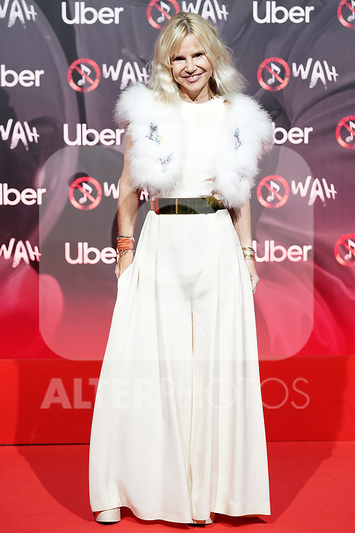 Spanish celebrity Eugenia Martinez de Irujo attends the photocall of the World Premiere of the show 'WAH'. October 7, 2021. (ALTERPHOTOS/Acero)