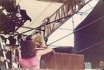 Uriah Heep, Mick Box, John Sinclair at Castle Donnington Monsters of Rock 1982 Donnington 1982
