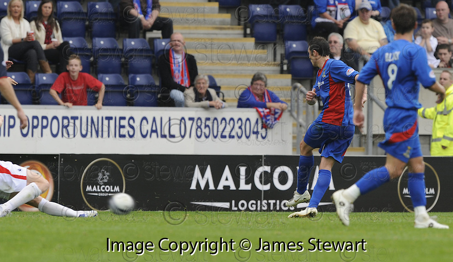 30/08/2008  Copyright Pic: James Stewart.File Name : sct_jspa10_falkirk_v_ict.DON COWIE SCORES CALEY'S FIRST.James Stewart Photo Agency 19 Carronlea Drive, Falkirk. FK2 8DN      Vat Reg No. 607 6932 25.James Stewart Photo Agency 19 Carronlea Drive, Falkirk. FK2 8DN      Vat Reg No. 607 6932 25.Studio      : +44 (0)1324 611191 .Mobile      : +44 (0)7721 416997.E-mail  :  jim@jspa.co.uk.If you require further information then contact Jim Stewart on any of the numbers above........