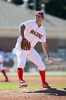 Sept. 3rd, 2007:  Davis Bilardello of the Batavia Muckdogs, Short-Season Class-A affiliate of the St. Louis Cardinals at Dwyer Stadium in Batavia, NY.  Photo by:  Mike Janes/Four Seam Images