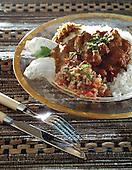 curry de porc à la papaye