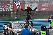 Monster Energy NASCAR Cup Series<br /> I LOVE NEW YORK 355 at The Glen<br /> Watkins Glen International, Watkins Glen, NY USA<br /> Sunday 6 August 2017<br /> Martin Truex Jr, Furniture Row Racing, Furniture Row/Denver Mattress Toyota Camry, Wins the I LOVE NEW YORK 355 at The Glen.<br /> World Copyright: John K Harrelson<br /> LAT Images