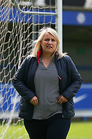 2nd May 2021; Kingsmeadow, London, England;  Emma Hayes of Chelsea during the UEFA Womens Champions League Semi Final game between Chelsea and Bayern Munich at Kingsmeadow
