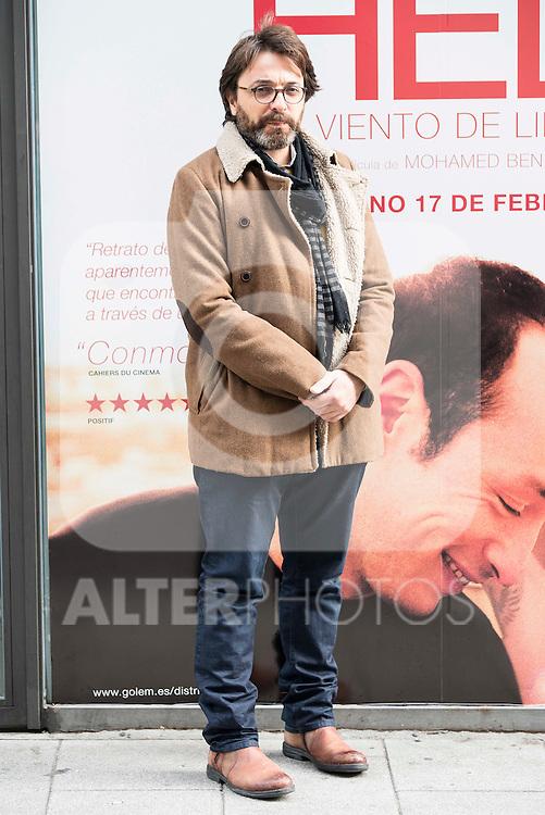 "Tunisian director Mohamed Ben Attia pose to the media during the presentation of his last film ""Hedi"" in Madrid. February 07, 2017. (ALTERPHOTOS/Borja B.Hojas)"