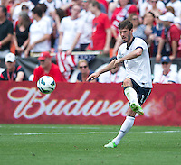 Brad Evans.  The USMNT defeated Germany, 4-3, in a friendly match held at RFK Stadium in Washington, DC.