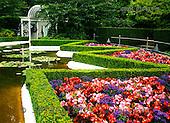 Tom Mackie, FLOWERS, photos, Star Pond, Butchart Gardens, Victoria, Vancouver Island, British Columbia, Canada, GBTM070318-1,#F# Garten, jardín