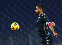Calcio, Serie A: S.S.Lazio - Napoli, Olympic stadium, Rome, December 20, 2020. <br /> Napoli's captain Nikola Maksimovic  in action during the Italian Serie A football match between Lazio and Napoli at the Olympic stadium, on December 20, 2020.<br /> UPDATE IMAGES PRESS/Isabella Bonotto