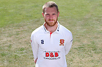 Jamie Porter of Essex poses for a portrait during the Essex CCC Press Day at The Cloudfm County Ground on 30th July 2020