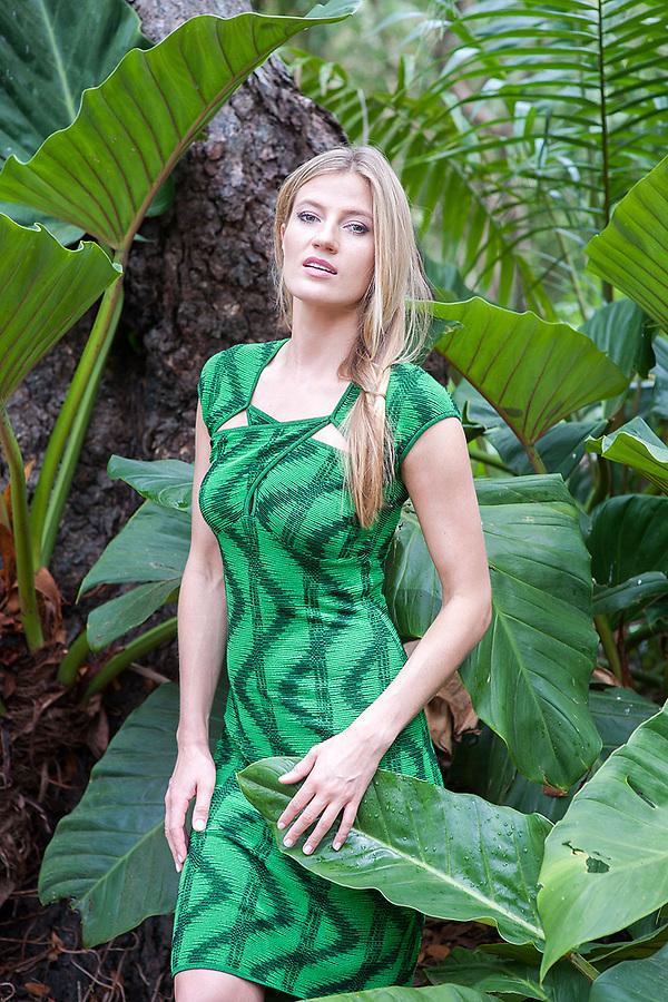 Asta Masedunskaite at Cherry Tree Hill, Barbados