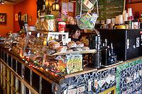 Quaint coffee shop, Italian, market, Philadelphia, Pennsylvania