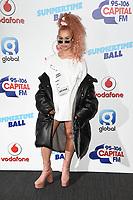 Raye<br /> at the Capital Summertime Ball 2017, Wembley Stadium, London. <br /> <br /> <br /> ©Ash Knotek  D3278  10/06/2017